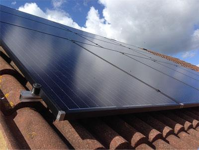 Solar panel install residential Essex