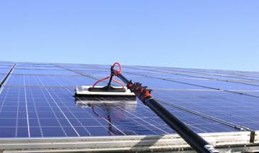 green energy electrical solar panel clean